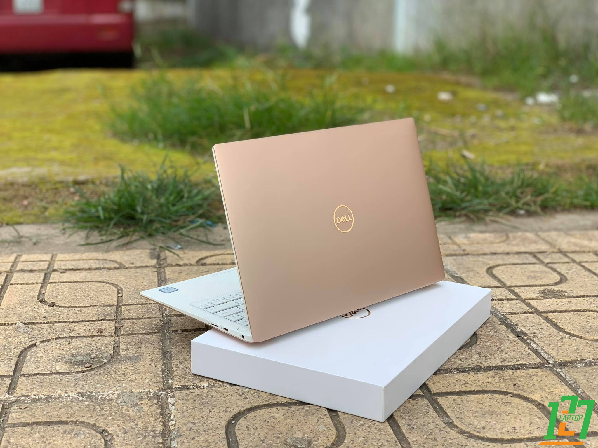 DELL XPS 9370 ROSE GOLD FULLBOX